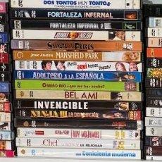 Cinéma: LOTE DE 50 DVDS CASI TODOS COMO NUEVOS AQUITIENESLOQUEBUSCA ALMERIA. Lote 232296670