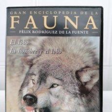 Cine: FAUNA - FELIX RODRIGUEZ DE LA FUENTE - EL LOBO / EL LOBO Y EL HOMBRE - DVD. Lote 232373380