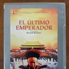 Cine: EL ULTIMO EMPERADOR (BERNARDO BERTOLUCCI) CINE EUROPEO EL PAIS - DVD SLIM - SUB01R. Lote 232791650