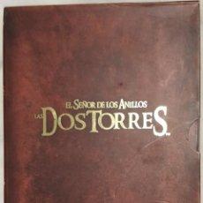 Cine: EL SEÑOR DE LOS ANILLOS - LAS DOS TORRES - VERSIÓN EXTENDIDA CON 4 DVD'S. Lote 232873360