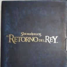 Cine: EL SEÑOR DE LOS ANILLOS - EL RETORNO DEL REY - VERSION EXTENDIDA CON 4 DVD'S. Lote 232874166