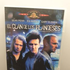 Cinema: EL CLAN DE LOS IRLANDESES. DVD. SEAN PENN, GARY OLDMAN, ED HARRIS, ROBIN WRIGHT, JOHN TURTURRO. Lote 232911320