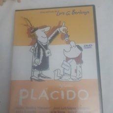 Cine: DVD DE LA PELICULA PLACIDO SIN USAR. Lote 232935125