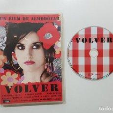 Cine: DVD.- PEDRO ALMODOVAR: VOLVER. PENÉLOPE CRUZ, CARMEN MAURA, LOLA DUEÑAS, CHUS LAMPREAVE. Lote 233182370