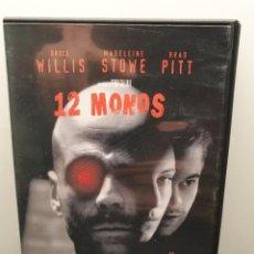Cinema: 12 MONOS. DVD. BRUCE WILLIS, BRAD PITT, TERRY GILLIAN.. Lote 233190530