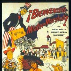 Cine: DVD BIENVENIDO MISTER MARSHALL LOLITA SEVILLA MANOLO MORAN JOSE ISBERT DE LUIS GARCIA BERLANGA. Lote 233380920