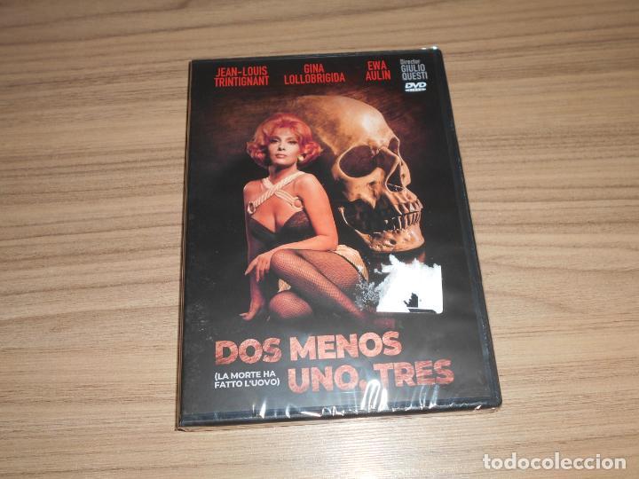DOS MENOS UNO TRES DVD JEAN-LOUIS TRINTIGNANT GINA LOLLOBRIGIDA NUEVA PRECINTADA (Cine - Películas - DVD)