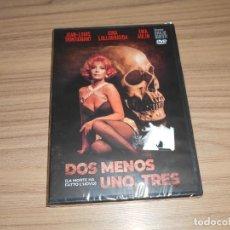 Cine: DOS MENOS UNO TRES DVD JEAN-LOUIS TRINTIGNANT GINA LOLLOBRIGIDA NUEVA PRECINTADA. Lote 269215368