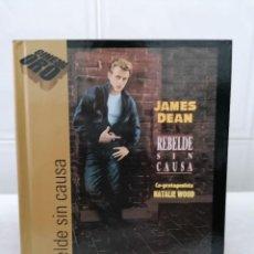 Cine: REBELDE SIN CAUSA - JAMES DEAN - EDICION ESPECIAL - DVD + LIBRO DE 60 PÁGINAS. Lote 233573965