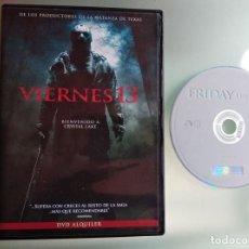 Cine: DVD - VIERNES 13 BIENVENIDOS A CRYSTAL LAKE PELICULA TERROR 2008 EDICION ALQUILER. Lote 233659430