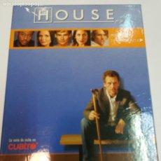 Cine: DVD PRIMERA TEMPORADA DE LA SERIE HOUSE SA2273. Lote 233661070