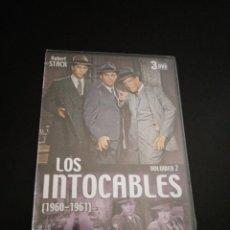 Cine: LOS INTOCABLES VOL. 2 (1960-1961) - DVD. Lote 233910780