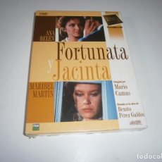 Cine: FORTUNATA Y JACINTA DVD NUEVO PRECINTADO MINISERIE TVE 3 DVDS ANA BELEN MARIBEL MARTIN MARIO CAMUS. Lote 234125885
