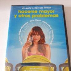 Cinema: B213 HACERSE MAYOR Y OTROS PROBLEMAS - DVD NUEVO PRECINTADO. Lote 234638605