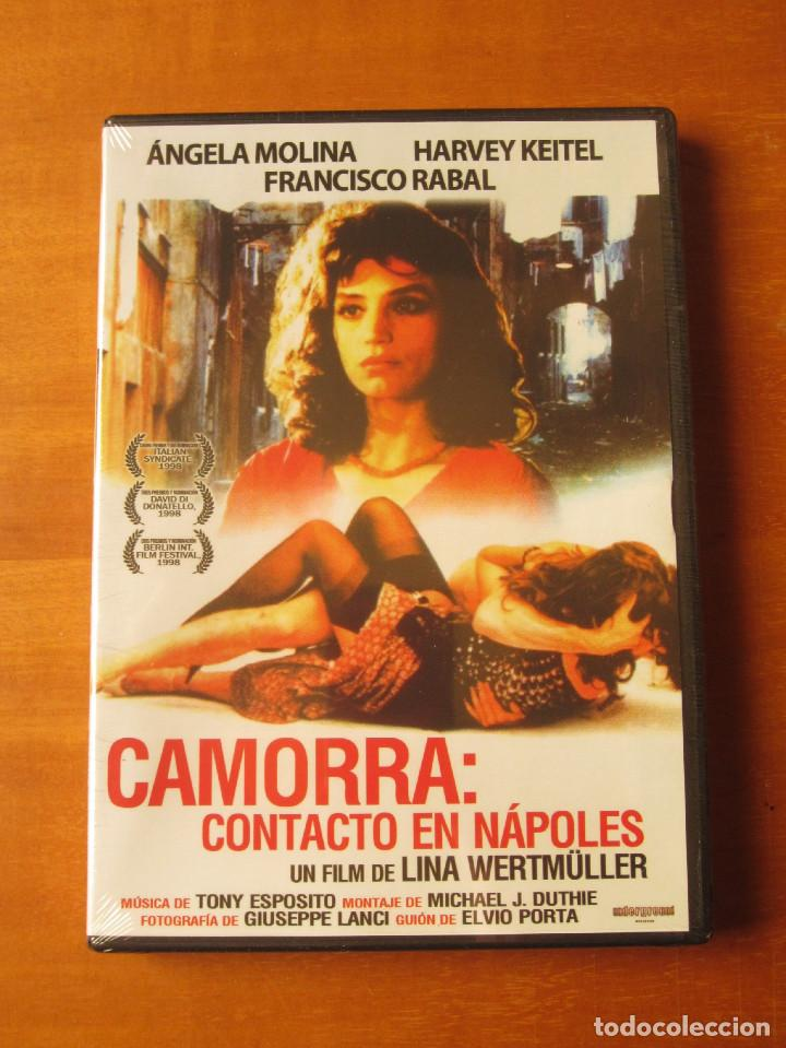 CAMORRA CONTACTO EN NAPOLES (ANGELA MOLINA) (DVD PRECINTADO) (Cine - Películas - DVD)