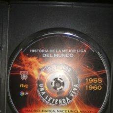 Cine: VENDO DVD HISTORIA LIGA 1955-1960. Lote 234840120