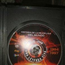 Cine: VENDO DVD HISTORIA LIGA 1994-1997. Lote 234841610
