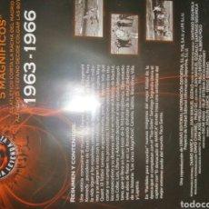 Cine: VENDO DVD HISTORIA LIGA 1963-1966. Lote 234841810