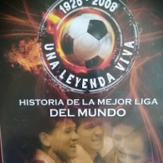 Cine: VENDO DVD HISTORIA LIGA 1999-2001. Lote 234842620