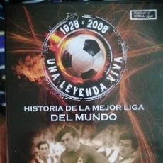 Cine: VENDO DVD HISTORIA LIGA 1977-1980. Lote 234842820