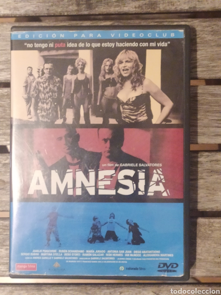 AMNESIA DVD (Cine - Películas - DVD)