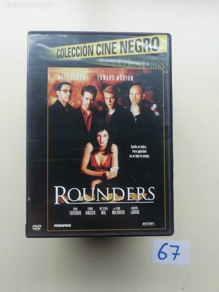 ROUNDERS (Cine - Películas - DVD)