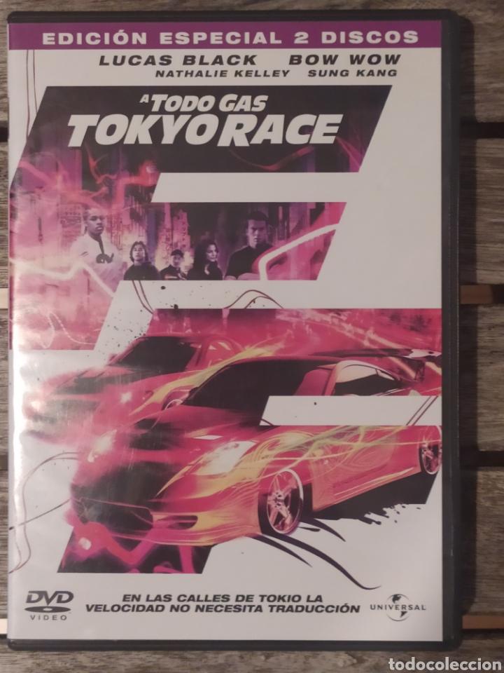 A TODO GAS TOKYO RACE EDICIÓN ESPECIAL 2 DISCOS DVD (Cine - Películas - DVD)