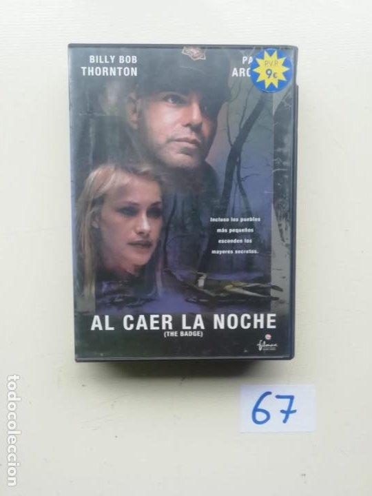 AL CAER LA NOCHE (Cine - Películas - DVD)