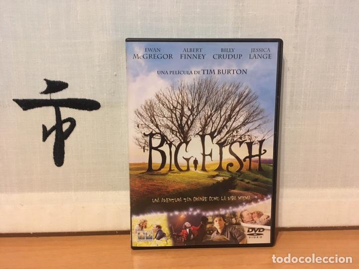 BIG FISH DVD EDICIÓN ESPAÑOLA ¡COMO NUEVO! (Cine - Películas - DVD)