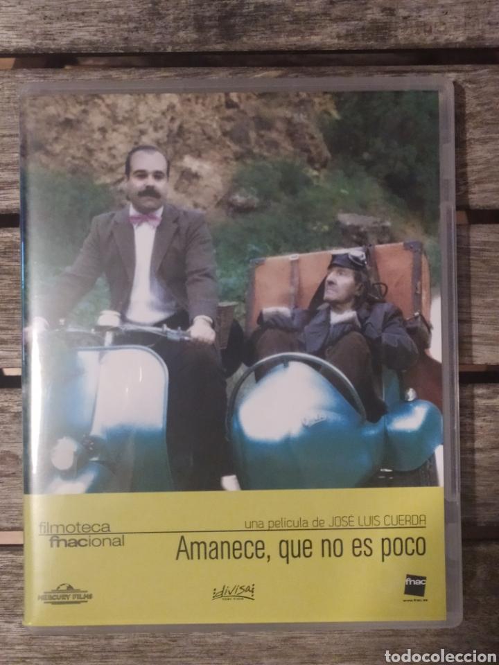 AMANECE QUE NO ES POCO DVD + BLU-RAY + LIBRETO DE 32 PAGS (Cine - Películas - DVD)