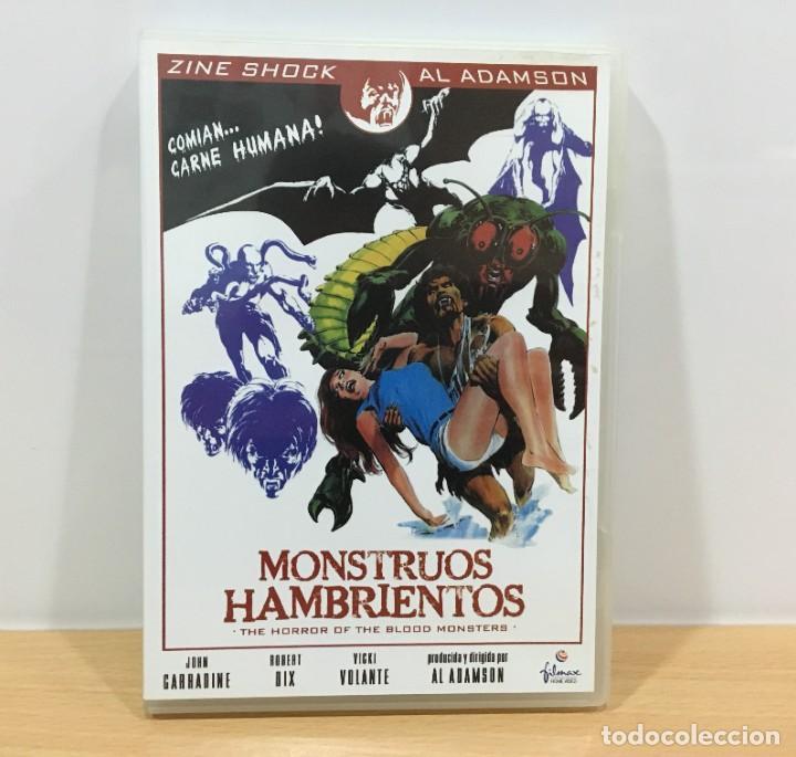 DVD CINE DE TERROR Y SCI-FI DE AL ADAMSON + 18 - MONSTRUOS HAMBRIENTOS (1970). FILMAX, 2006 (Cine - Películas - DVD)
