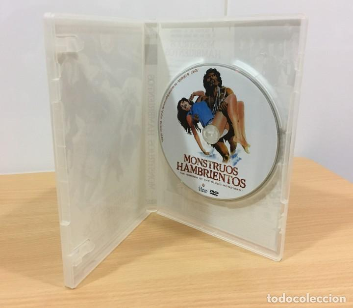 Cine: DVD CINE DE TERROR Y SCI-FI DE AL ADAMSON + 18 - MONSTRUOS HAMBRIENTOS (1970). FILMAX, 2006 - Foto 4 - 234908860