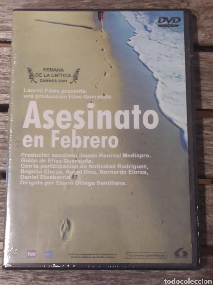 ASESINATO EN FEBRERO DVD NUEVA Y PRECINTADA (Cine - Películas - DVD)