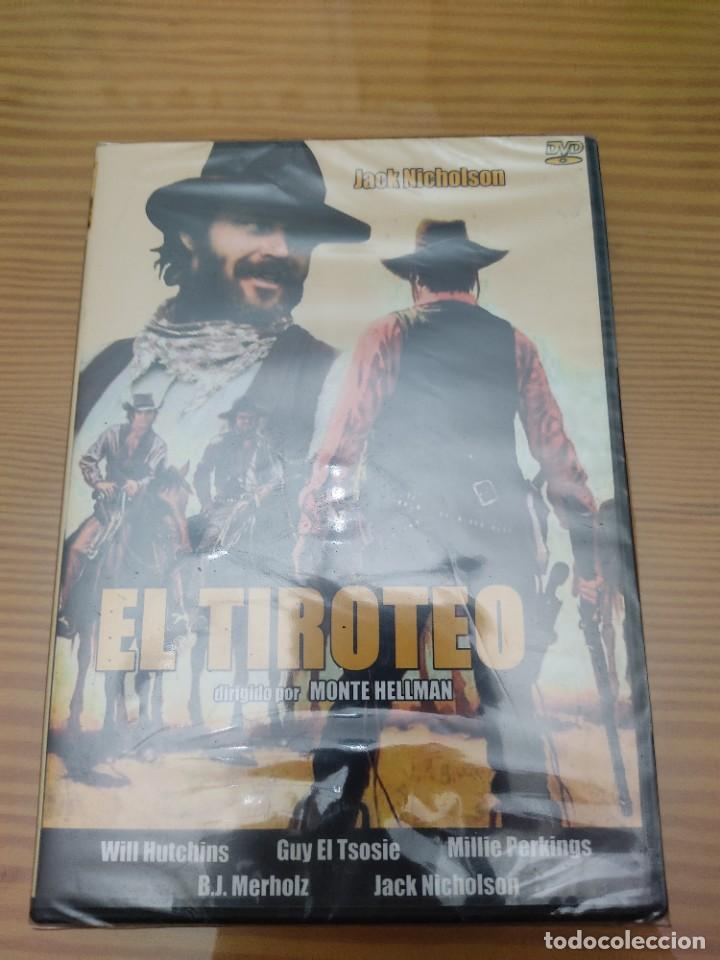 PRECINTADA !!PELICULA CLASICA DEL OESTE EN DVD,EL TIROTEO (Cine - Películas - DVD)