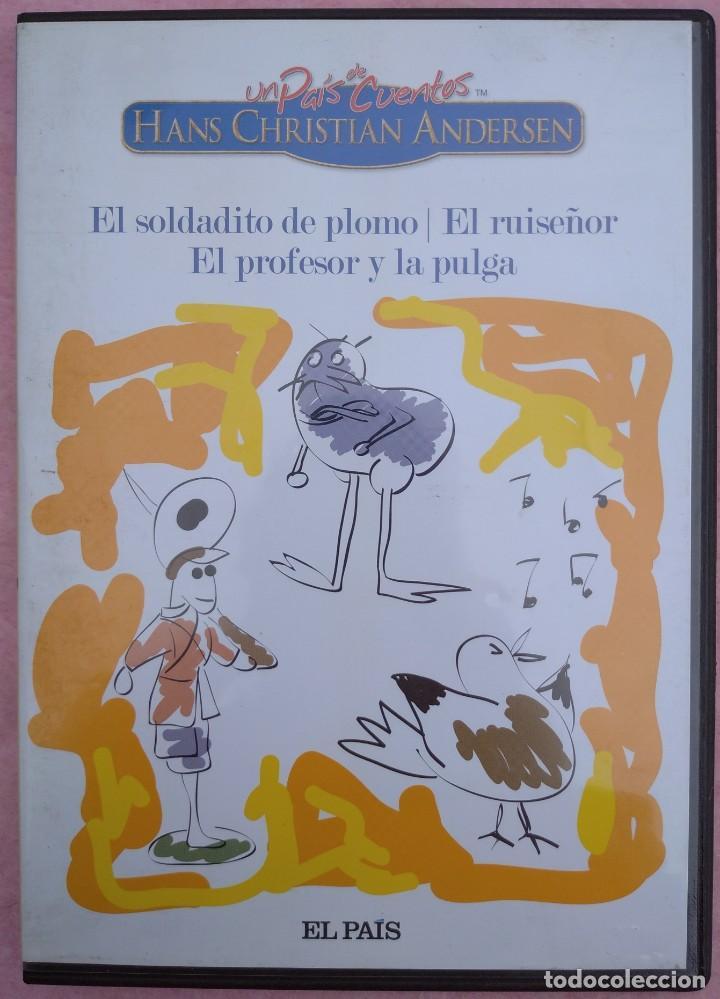 """Cine: LOTE 5 DVD'S """"UN PAÍS DE CUENTOS, HANS CHRISTIAN ANDERSEN"""" (EL PAÍS, 2007) /// DISNEY MICKEY MOUSE - Foto 3 - 234956990"""
