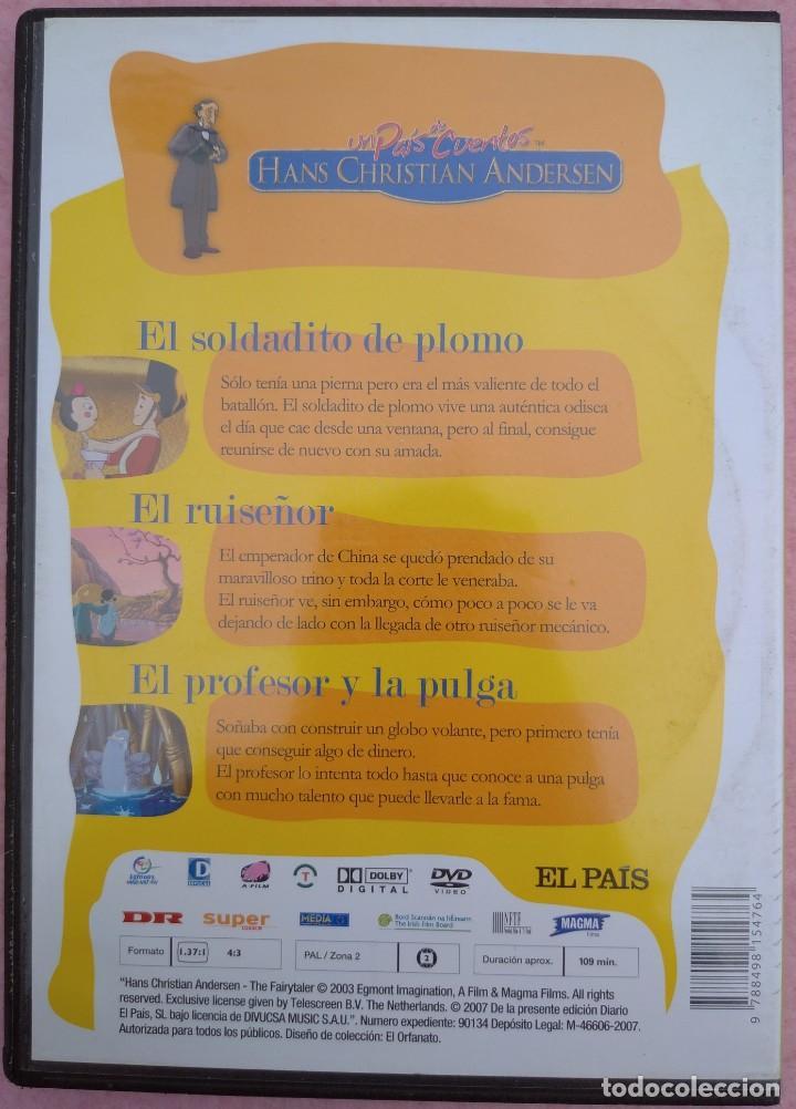"""Cine: LOTE 5 DVD'S """"UN PAÍS DE CUENTOS, HANS CHRISTIAN ANDERSEN"""" (EL PAÍS, 2007) /// DISNEY MICKEY MOUSE - Foto 4 - 234956990"""