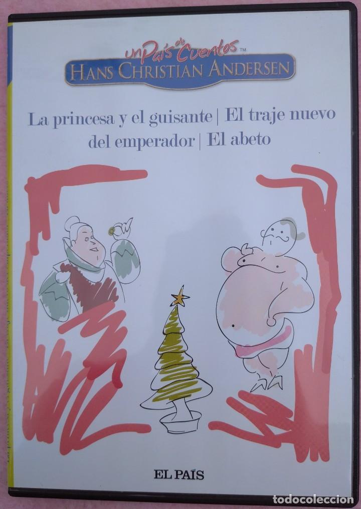 """Cine: LOTE 5 DVD'S """"UN PAÍS DE CUENTOS, HANS CHRISTIAN ANDERSEN"""" (EL PAÍS, 2007) /// DISNEY MICKEY MOUSE - Foto 5 - 234956990"""