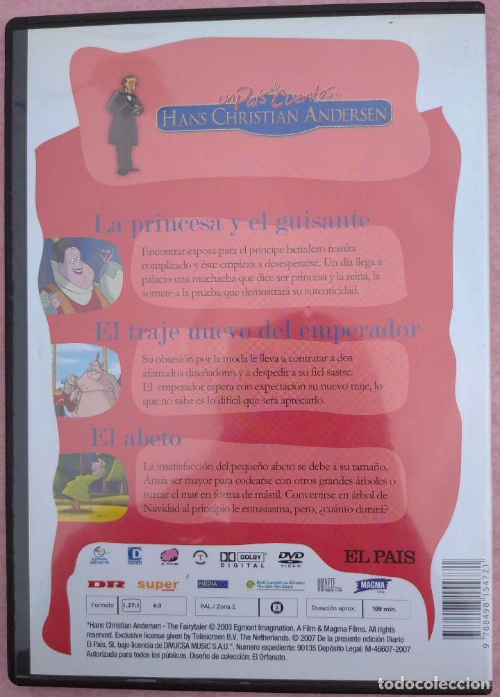 """Cine: LOTE 5 DVD'S """"UN PAÍS DE CUENTOS, HANS CHRISTIAN ANDERSEN"""" (EL PAÍS, 2007) /// DISNEY MICKEY MOUSE - Foto 6 - 234956990"""
