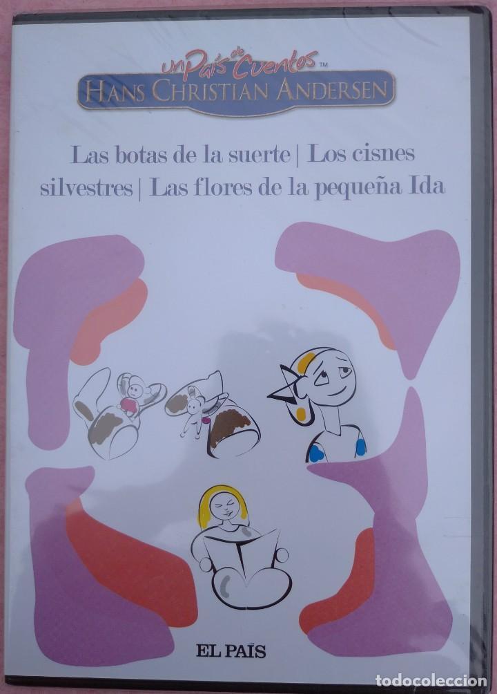 """Cine: LOTE 5 DVD'S """"UN PAÍS DE CUENTOS, HANS CHRISTIAN ANDERSEN"""" (EL PAÍS, 2007) /// DISNEY MICKEY MOUSE - Foto 7 - 234956990"""