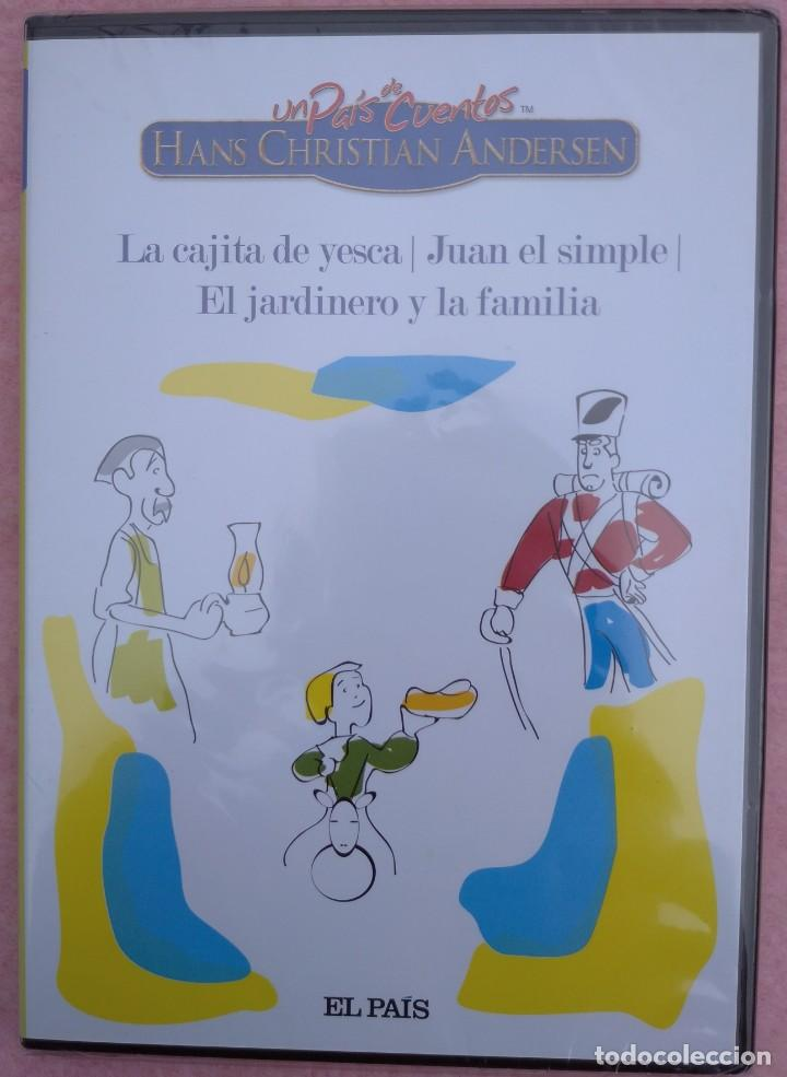 """Cine: LOTE 5 DVD'S """"UN PAÍS DE CUENTOS, HANS CHRISTIAN ANDERSEN"""" (EL PAÍS, 2007) /// DISNEY MICKEY MOUSE - Foto 9 - 234956990"""