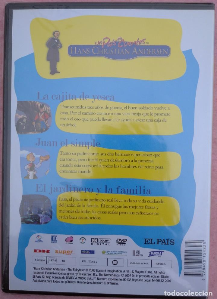 """Cine: LOTE 5 DVD'S """"UN PAÍS DE CUENTOS, HANS CHRISTIAN ANDERSEN"""" (EL PAÍS, 2007) /// DISNEY MICKEY MOUSE - Foto 10 - 234956990"""