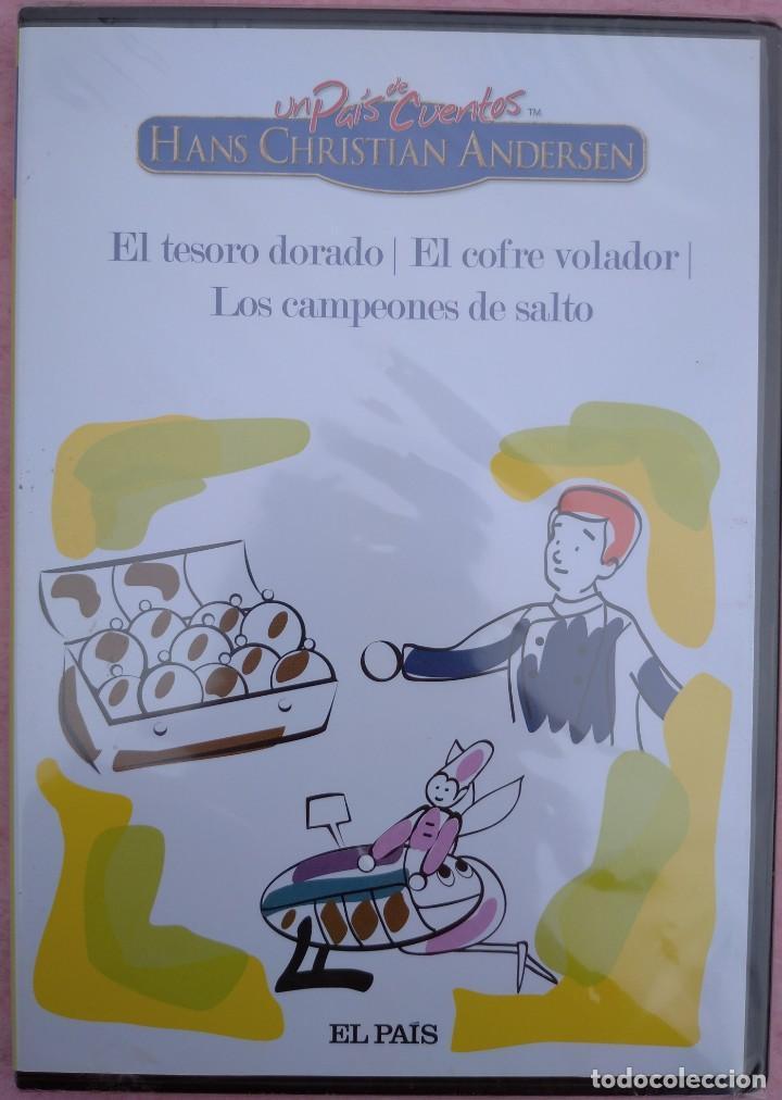 """Cine: LOTE 5 DVD'S """"UN PAÍS DE CUENTOS, HANS CHRISTIAN ANDERSEN"""" (EL PAÍS, 2007) /// DISNEY MICKEY MOUSE - Foto 11 - 234956990"""