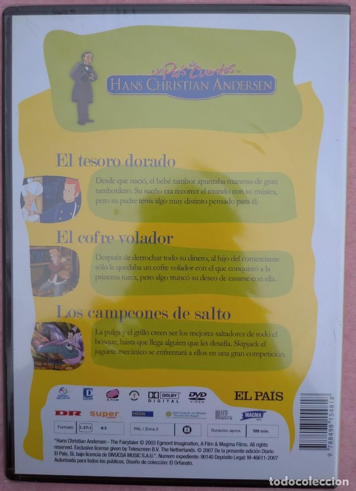 """Cine: LOTE 5 DVD'S """"UN PAÍS DE CUENTOS, HANS CHRISTIAN ANDERSEN"""" (EL PAÍS, 2007) /// DISNEY MICKEY MOUSE - Foto 12 - 234956990"""