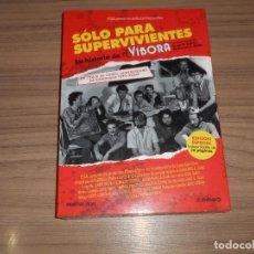 Cine: SOLO PARA SUPERVIVIENTES LA HISTORIA DE EL VIBORA EDICION ESPECIAL DVD + LIBRO 20 PAG. PRECINTADA. Lote 262403450