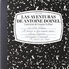 Cinema: LAS AVENTURAS DE ANTOINE DOINEL 4 DVDS LOS 400 GOLPES + EL AMOR EN FUGA + DOMICILIO CONYUHAL + BESOS. Lote 235058500