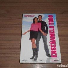 Cine: ENSEÑAMELO TODO TEMPORADA 1 COMPLETA 3 DVD 240 MIN. NUEVA PRECINTADA. Lote 235178020
