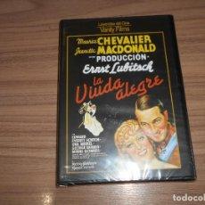 Cine: LA VIUDA ALEGRE DVD DE ERNST LUBITSCH JEANETTE MACDONALD NUEVA PRECINTADA. Lote 278422068