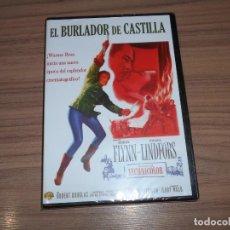 Cine: EL BURLADOR DE CASTILLA DVD ERROL FLYNN NUEVA PRECINTADA. Lote 235183845