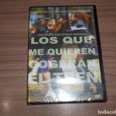 Cine: LOS QUE ME QUIEREN COGERAN EL TREN DVD DE PATRICE CHEREAU JEAN-LOUIS TRINTGNANT NUEVA PRECINTADA. Lote 235184240