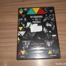 Cine: EN GRANADA ES POSIBLE EDICION ESPECIAL 2 DVD UNA CIUDAD DE MUSICA POP ROCK NUEVA PRECINTADA. Lote 235184705